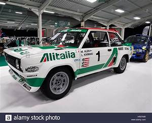 Fiat 131 Rally Car Stock Photo  Royalty Free Image