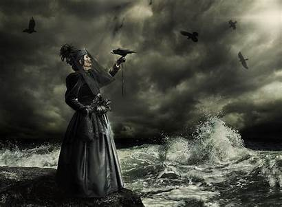 Gothic Photoshop Composite Goth Water Sky Sea
