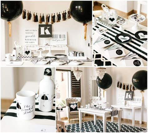 black  white party dress  ideas sweet
