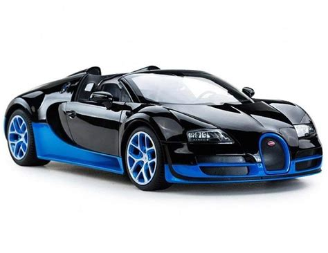 This buggati veyron is a desirable playmate to children, which shall cheer them up to the utmost extent with its marvelous appearance and function. Radio Remote Control 1/14 Bugatti Veyron 16.4 Grand Sport Car (Blue) #12Vtoys #toystore #d ...