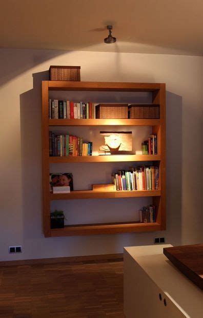 Wall Mounted Bookshelf Plans  Woodworking Projects & Plans
