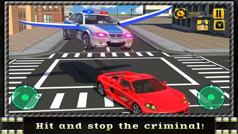 Flying Car Police Chase (games