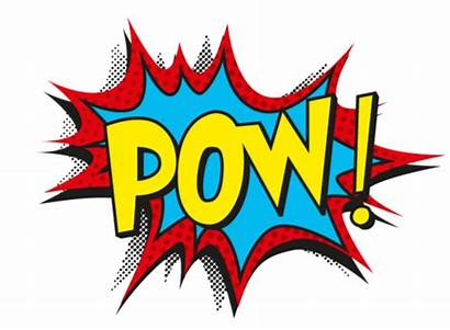Pow Batman Transparent Pop Superhero Comic Bam