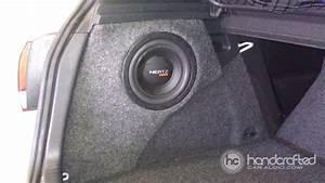2011 Volkswagen Gti Custom Subwoofer Enclosure And Speaker
