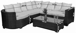 Wicker outdoor modular corner sofa chaise patio lounge for Outdoor sectional sofa dimensions