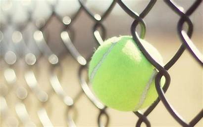 Tennis Wallpapers Fence Tenis Ball Balls Bokeh