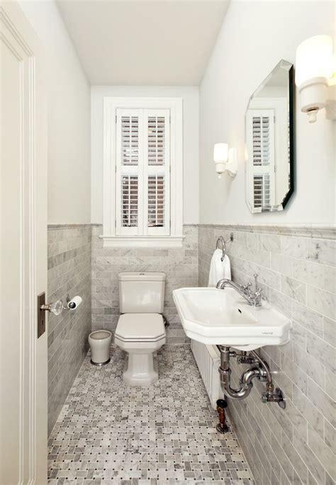 Long Narrow Bathroom Ideas by Powder Room Wall Decor Powder Room Traditional With Small