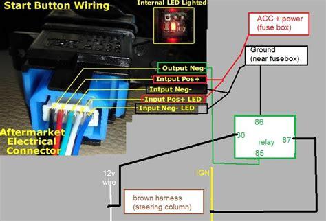 Ctr Push Start Button Diy Install Pics Wiring