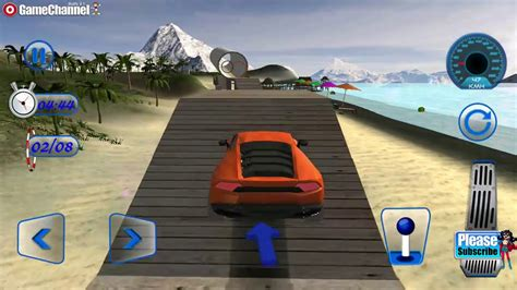 Impossible Car Driving Games / Crazy Stunts Car Game