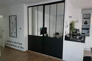 Porte De Placard Style Verriere : placards sur mesure kiosque am nagement ~ Nature-et-papiers.com Idées de Décoration