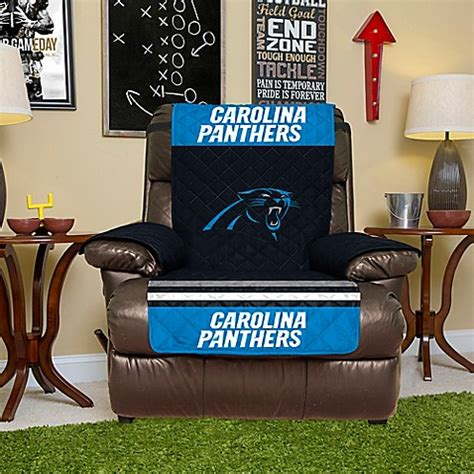 Nfl Carolina Panthers Recliner Cover  Bed Bath & Beyond