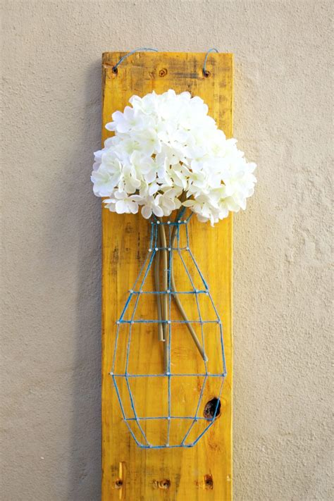 pallet string art  sign diy