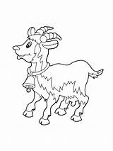Coloring Pages Goat Emu Goats Baby Printable Billy Gruff Drawing Colouring Getdrawings Getcolorings Animals Story sketch template