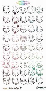 Anime Expressions | Draw Me | Pinterest | Mimik ...