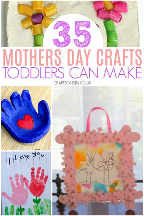 35 mothers day crafts for toddlers crafts on sea 785 | mothers day crafts toddlers can make easy preschool