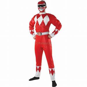 POWER RANGERS ~ Mighty Morphin Red Power Ranger - Adult ...