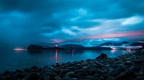 wallpaper juneau alaska ocean sky  travel