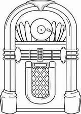 Jukebox sketch template