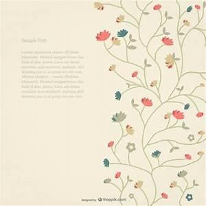Verspielter Floraler Design Stil : floral background vector free download ~ Watch28wear.com Haus und Dekorationen