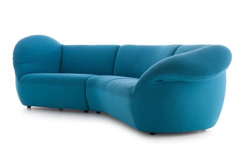 comfortable colorful living room furniture by leolux