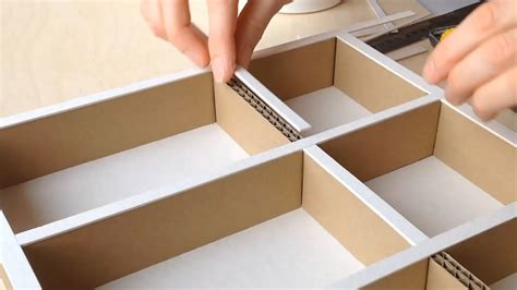 How To Make Your Own Drawer Organizer by Diy How To Make A Cardboard Drawer Organizer Hd