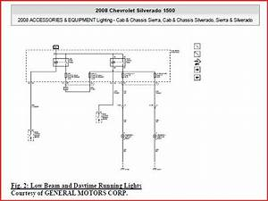 Headlight Wire Diagram  - 1999-2013 Silverado  U0026 Sierra 1500
