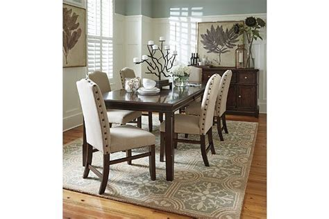 Lavidor Dining Room Table and Chairs, plus Buffet from