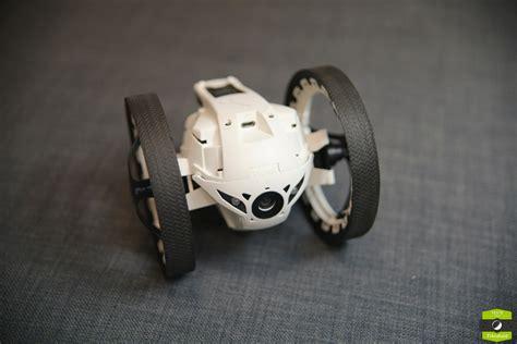test des minidrones de parrot les jumping sumo  rolling spider frandroid