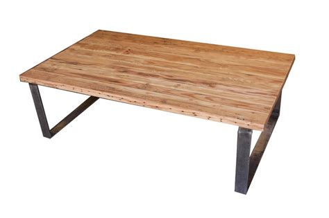 metal legs for wood table portland rectangular coffee table in reclaimed wood and