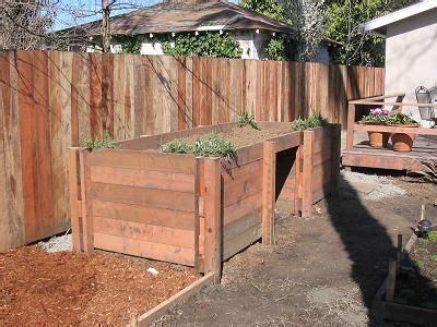 wheelchair accessible garden bed planter box