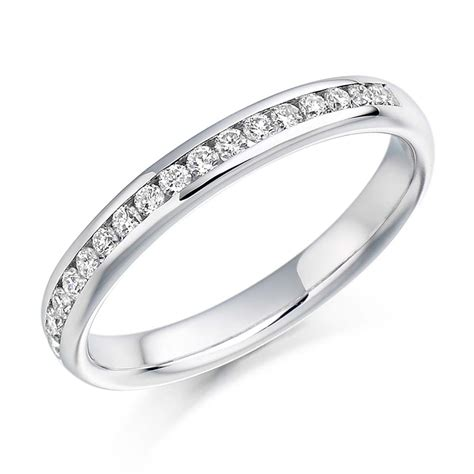 vintage engagement ring 18ct white gold solitaire 1 2ct