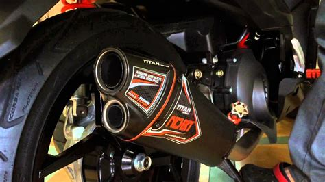 Nob1 Titan Series Exhaust W/out Db-killer For Mio Soul Gt