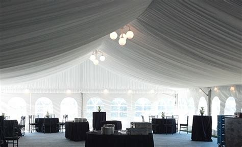 party center event  tent lighting
