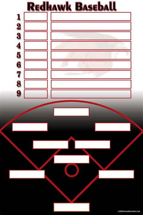 baseball softball image maker