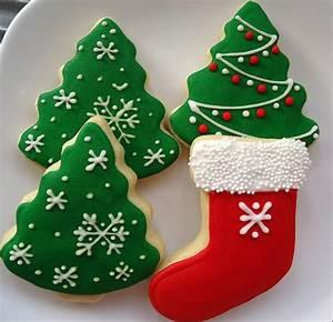 Christmas Tree Of Cookies Recipe — Dishmaps