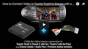 Toyota Touch And Go 2 : av video audio cable for toyota touch 2 and entune oem monitors head units ebay ~ Gottalentnigeria.com Avis de Voitures