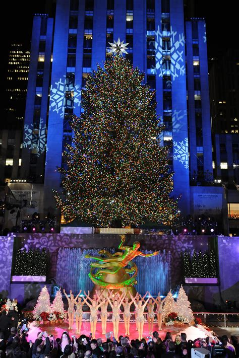 2008 in rockefeller center tree lighting
