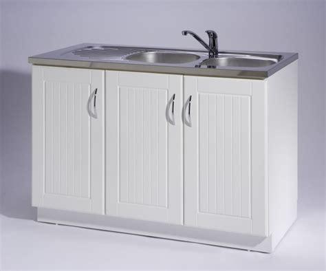 meuble cuisine 3 portes meuble de cuisine sous évier 3 portes maison et mobilier