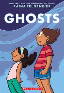 My Little Lamb Chair by Raina Telgemeier Unveils Cover And Preview Of Ghosts