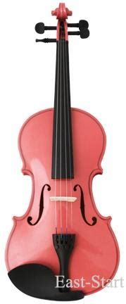 colored violins pink colored student violin east start musical