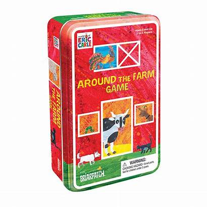Farm Carle Eric Around Tin Dymocks
