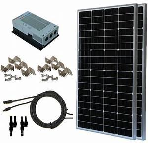 200 Watt  12 Volt  24 Volt Monocrystalline Solar Panel