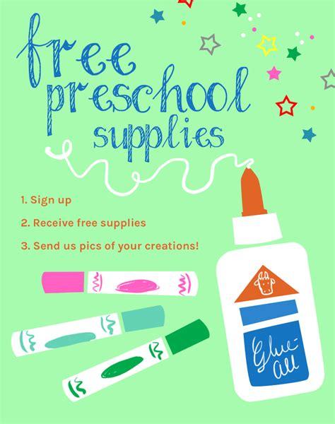 free preschool supplies program preschool activities and 426 | preschool supplies