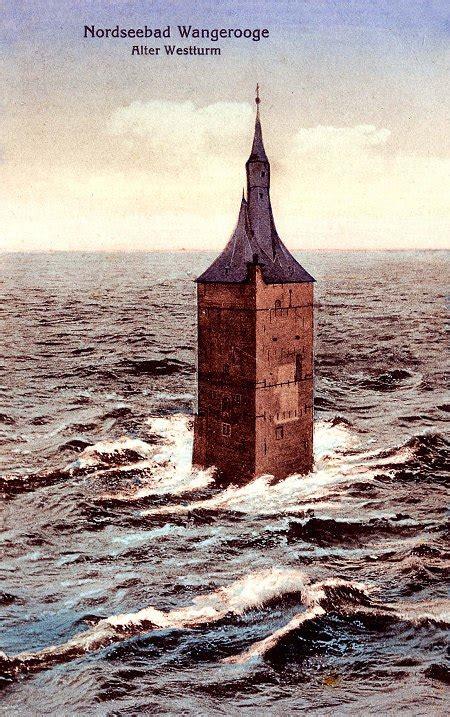alter westturm historische inselbilder virtual wangerooge