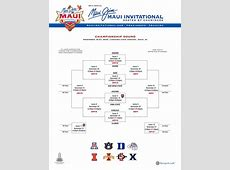 Maui Now Highly Anticipated Matchups Revealed in Maui Jim Maui Invitational Bracket