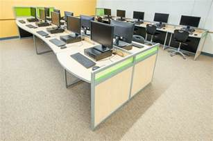 Office Furniture Layout Software by Computer Lab Furniture Customized For Any Space By