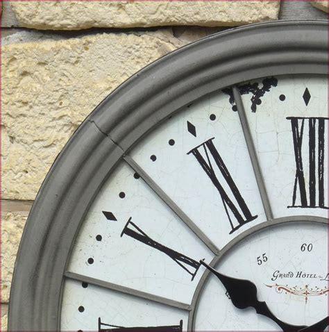 pendule de cuisine murale style ancienne grande horloge pendule murale en fer de