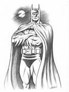 Batman Drawings in Pen...