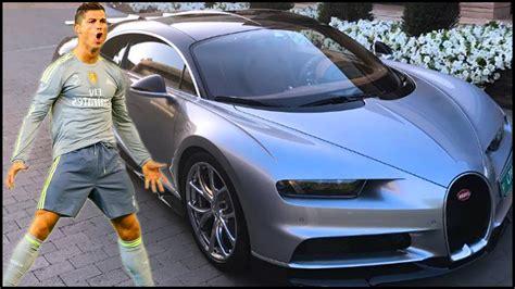 In 2017, ronaldo's need for speed saw the mercurial forward splash the cash on a stunning silver bugatti chiron. Cristiano Ronaldo's NEW Super Car - Bugatti Chiron - YouTube