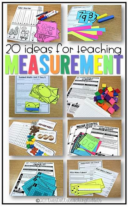 Measurement Grade Activities Teaching Kindergarten Math 2nd